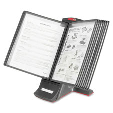 "Desktop stand system,12 sleeves,24 documts,6""x14-1/2""x9-1/2, sold as 1 each, 3 each per each"