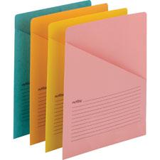 Smead Slash Pocket File Jackets