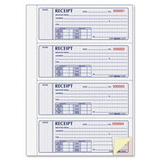 Rediform Hardbound Money Receipt Book
