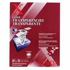 Xerox Clear Transparencies