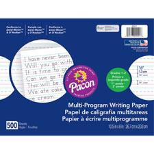 Pacon Multi-Program Handwriting Papers