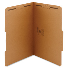 Smead Kraft Top Tab Folders w/ Fasteners