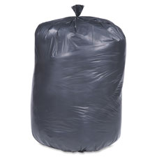 "Trash bags, 1.5 mil, 40""x48"", 40-45 gal, 100/bx, black, sold as 1 carton, 100 each per carton"