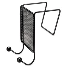 Fellowes Partition Mesh Twin Coat Hooks