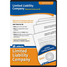 Limited liability companies software, includes instructions, sold as 1 each