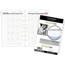 Day Runner Express Monthly Planner Refills