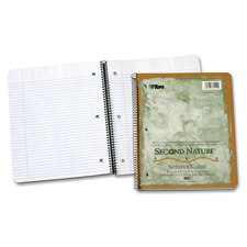 Tops Second Nature College Rule Spiral Notebooks