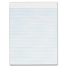 Tops Recycled White Gum Narrow Ruled Legal Pads