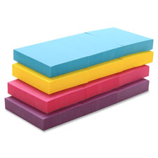 Sparco Premium Plain Extreme Colors Adhesive Notes