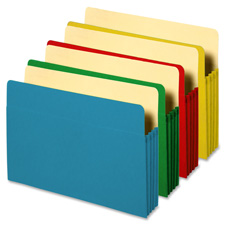 Sparco Accordian File Pockets