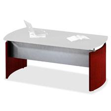 Mayline Napoli Series Veneer Desk Ensemble