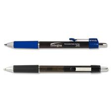 Roller gel pen, retractable, .7mm, 1dz, blue barrel/ink, sold as 1 dozen, 12 each per dozen