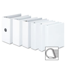 "SPR Product By Acco/Wilson Jones - Binder View D-Ring 11""x8-1/2"" 1-1/2"" Capacity White at Sears.com"