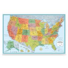 Rand McNally Laminated United States Wall Map