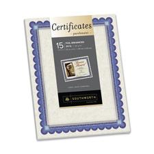 Southworth Foil-Enhanced Parchment Certificates