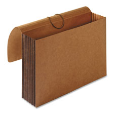 "Accordion wallets, legal, 5-1/4"" exp, 12-3/8""x10"", brown, sold as 1 each"