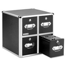 Ideastream Vaultz 2-Drawer Locking CD Cabinet