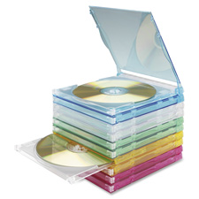 Compucessory Assorted Stacking Jewel Cases