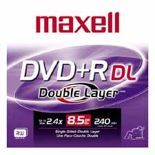 Maxell Double Layer DVD+RDL