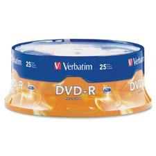 Verbatim 16X Speed Branded DVD-R Spindle