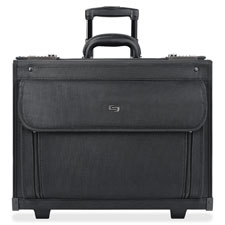 "Computer catalog case, 18""x10-1/2""x14-1/4"", black, sold as 1 each"