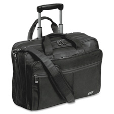 US Luggage Leather Rolling Computer Cases