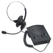 Compucessory Lg. Earpad Amplifier/Headset Kit