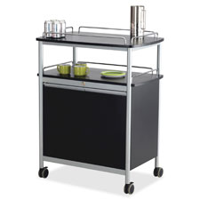 Safco Mobile Beverage Stand