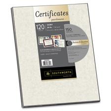 Southworth Certificate Parchment Paper w/ CD