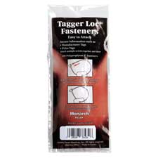 Tagger loc fasteners refills, 100/pk, sold as 1 package