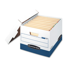 Fellowes Bankers Box Stor/File Boxes w/ Lids