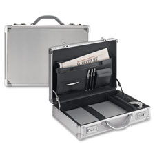 US Luggage Aluminum Computer Attache Case