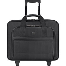 US Luggage Ballistic Nylon Rolling Computer Case