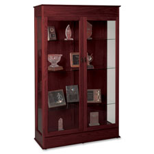 Balt Traditional Wood Display Cases
