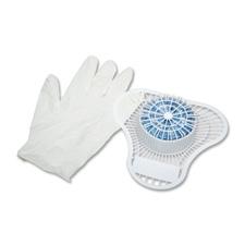 Urinal screen kit,one 2.5 oz. deodorant,1 glove,12/ct, sold as 1 carton, 12 each per carton
