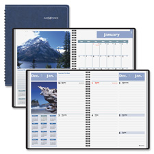 At-A-Glance Wkly/Mntly Scenic Appointment Book
