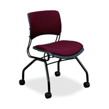 Hon Armless Mobile Guest Chairs