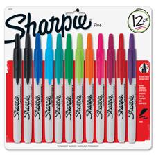 Sanford Sharpie Retractable Fine Point Markers