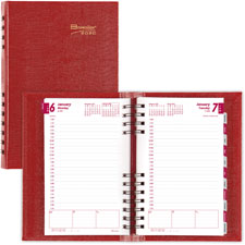 Rediform CoilPro Hard Cover Daily Planner