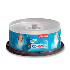Imation Ultra Speed Branded CD-RW Discs Spindle