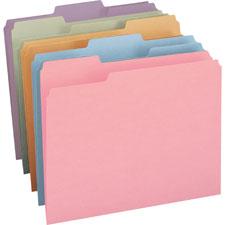 Smead Colored Top Tab File Folders