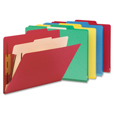 Smead Top Tab Colored Classification Folders