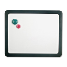 "Dry-erase board,magnetic,w/3 magnets,15-7/7""x1""x12-7/8"",slgy, sold as 1 each"