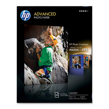 HP Advanced Glossy & Water Resistant Photo Paper