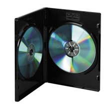 Compucessory Wrap Around 4-Cap DVD Storage Case