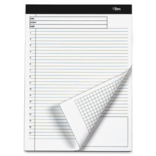Tops Docket Gold Project Pads w/ Grid