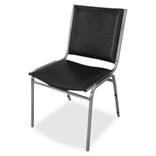 "Stacking chairs, armless, 20-3/4""x19-3/8""x35-5/8"",4/ct,black, sold as 1 carton, 4 each per carton"