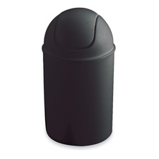 Safco Swing Lid Mini Receptacles