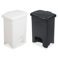 Safco Plastic Step-on Receptacle