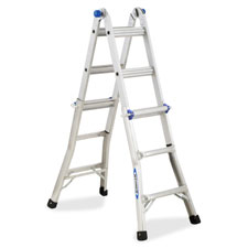 R D Werner Aluminum Telescoping Ladder